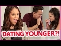 DATING A YOUNGER GUY?! | Myth Matchmaker w/ Claudia Sulewski