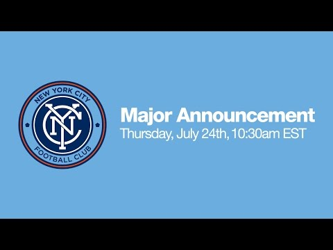 LIVE: NYCFC Press Conference | Thursday, July 24 | 10:30am ET klip izle