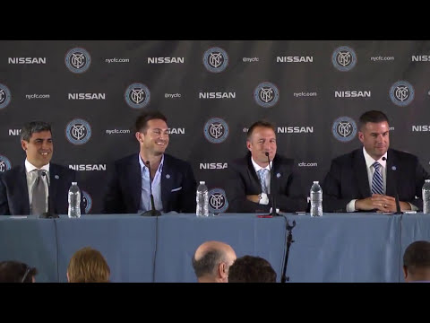 LIVE: NYCFC Press Conference | Thursday, July 24 | 10:30am ET