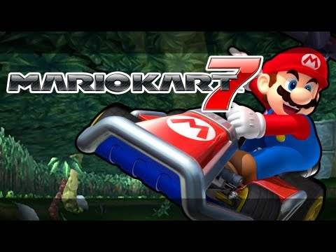 Mario Kart 7 - Rainbow Road, Bowser's Castle, DK Jungle, Koopa Cape (MK7 Online Races Gameplay)
