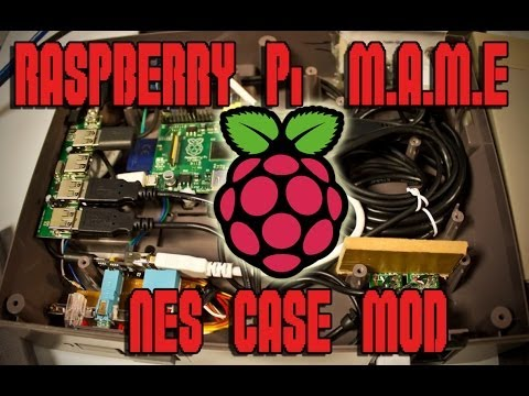 How to build a Raspberry Pi MAME in a NES