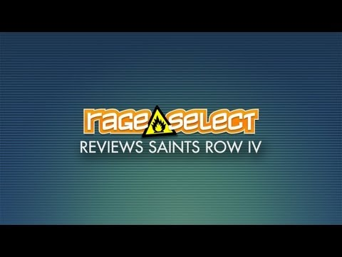 Rage Select reviews Saints Row IV
