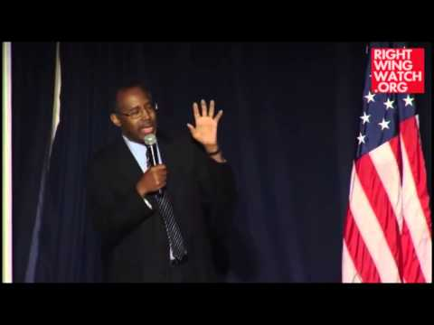 Ben Carson: Gay Marriage a Marxist Plot to Impose
