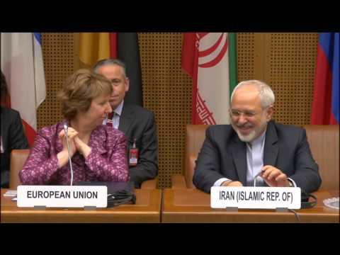 EU HR Ashton at the E3+3 negotiations with Iran: Roundtable