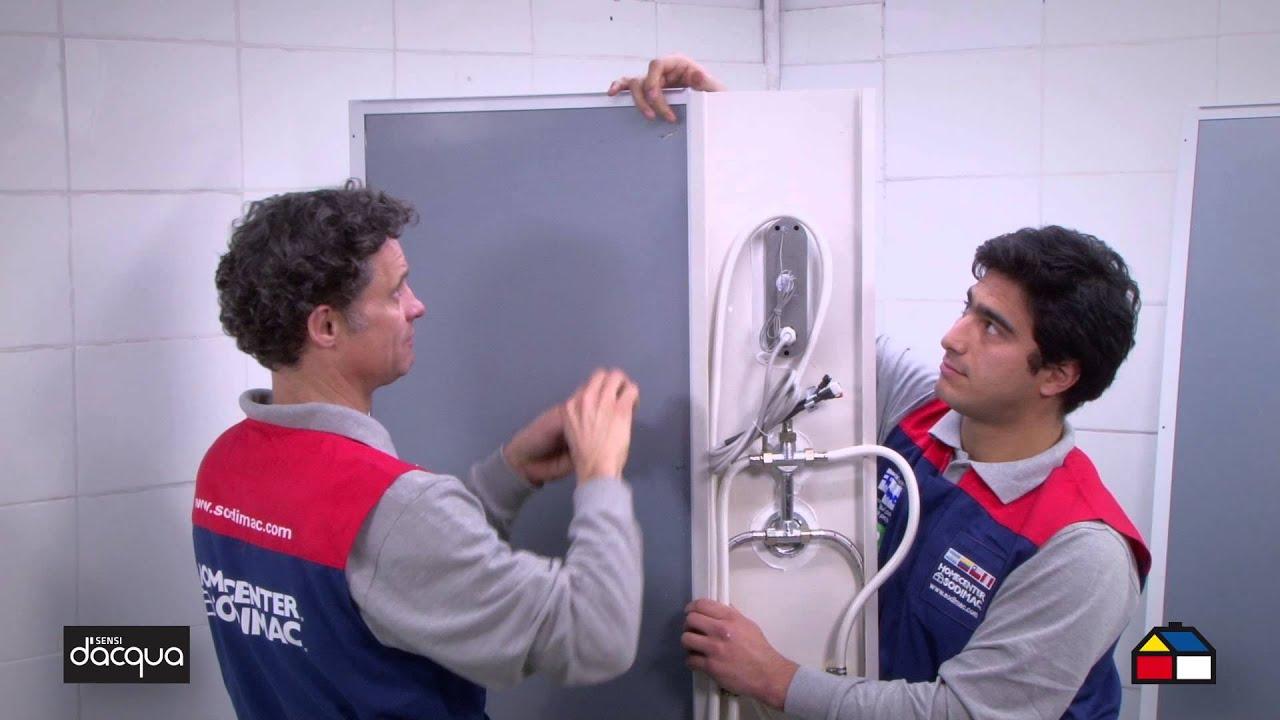 Cabinas De Ducha Sensi Dacqua:Como armar e instalar tu Cabina Hidromasaje con Radio 80 x 80 cm
