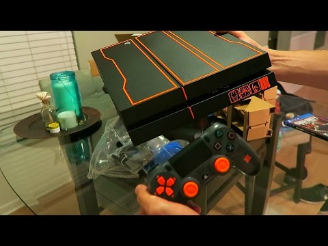 Black Ops 3 Limited Edition Playstation 4 Unboxing!