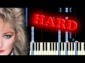 BONNIE TYLER - TOTAL ECLIPSE OF THE HEART - Piano Tutorial
