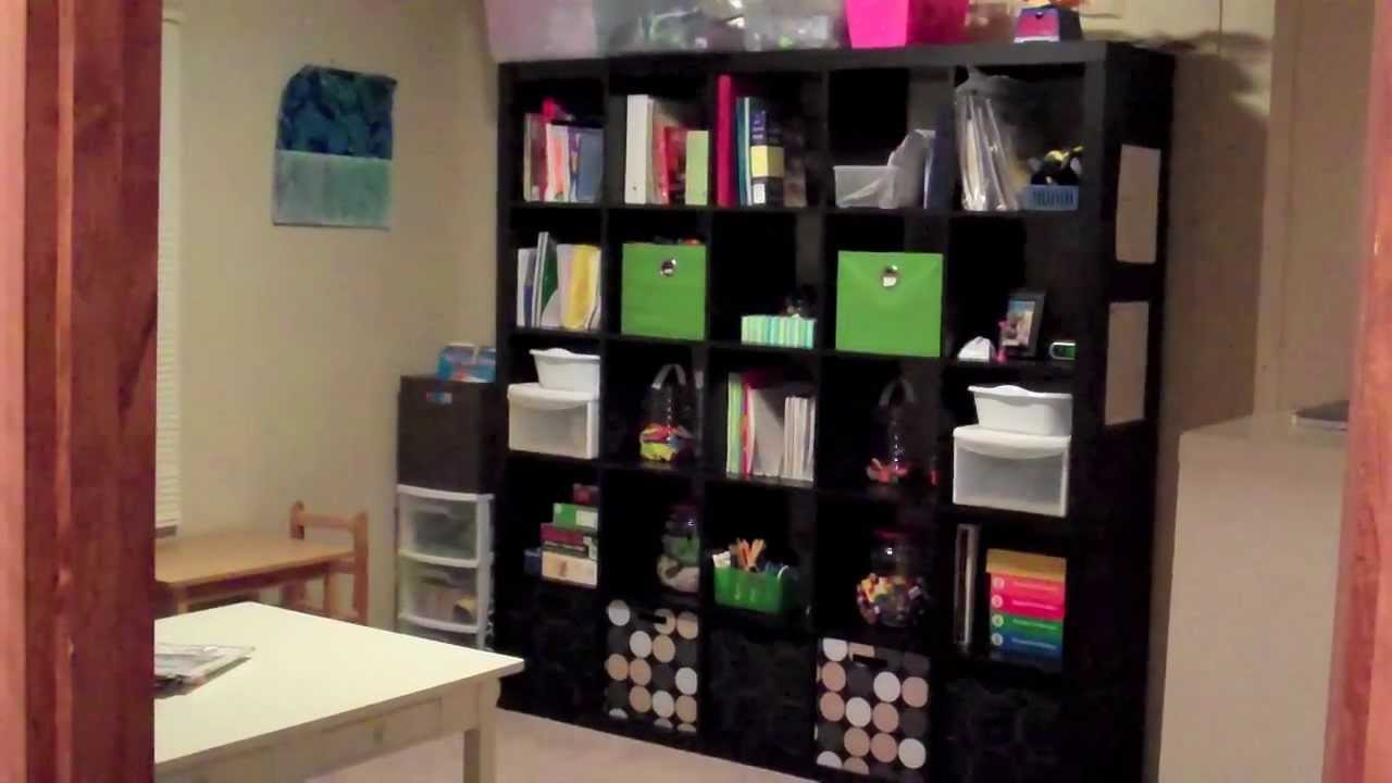 My Homeschool Room Tour Youtube
