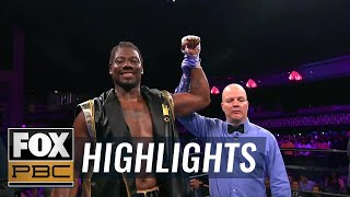 """Prince"" Charles Martin beats Daniel Martz by 4th round TKO 