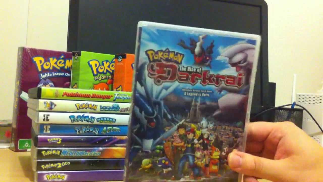 Olesilva10 S Epic Pokemon 2000 Dvd Movie Collection Youtube