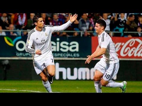 Eibar 0-4 Real Madrid | Goles | COPE | 22/11/2014