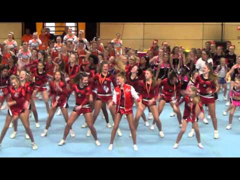 Alle Cheergroepen   Wobble   V I C video