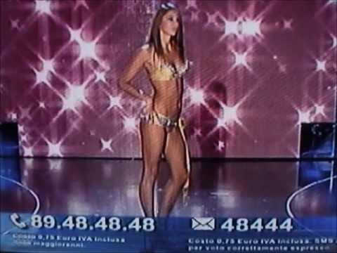 Martina Alberti,Miss Emilia Cotonella,at Miss Italia 2009.Bikini Catwalks.Slideshow