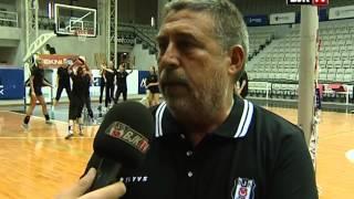 Bayan Voleybol Takımımızın Antrenman ve Röportajı BJK TV
