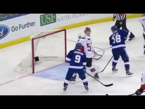 Кучеров оформил второй хет-трик в НХЛ