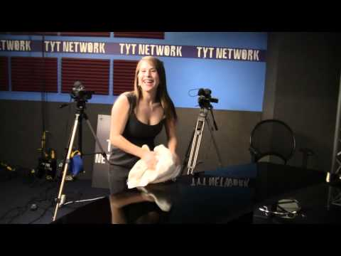 Ana Behind The Scenes Of New TYT Set