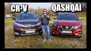 Honda CR-V vs. Nissan Qashqai (ENG) - Which Compact Crossover Is Better?