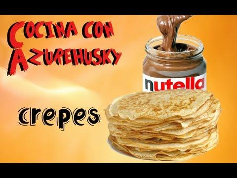 Tutorial - Cómo hacer crepes dulces
