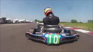 Nick Jenkins - KZ 125 Gearbox Southern Championship - Heat 3 - FEKC