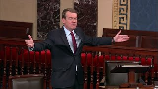 Michael Bennet's full speech on the shutdown