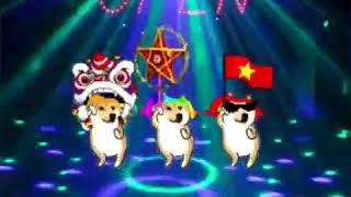 Rước đén trung thu   tam ca 3 con chó