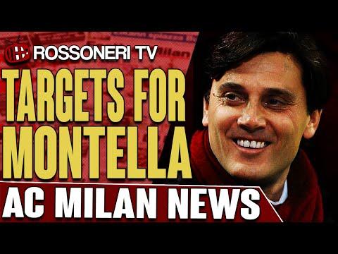 Targets For Montella | AC Milan News | Rossoneri TV