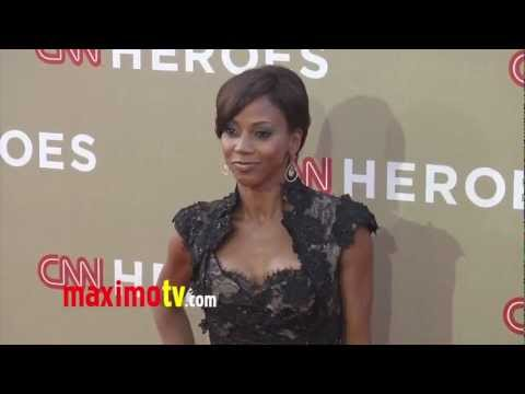 Holly Robinson Peete CNN Heroes: An All-Star Tribute 2012 Red Carpet Arrivals