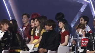 VSEUL moment Taehyung & Seulgi at GDA