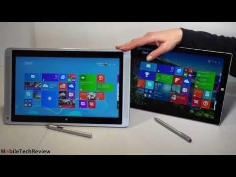 HP Envy x2 13t vs. Microsoft Surface Pro 3 Comparison Smackdown