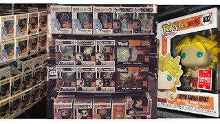 New SDCC 2018 FunkoPop Hunt DragonballZ Broly Yamcha HotTopic Anime MyHeroAcademia GameStop & Chase