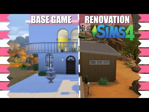 SIMS 4 BASE GAME HOUSE RENOVATION🎮Preparing For The New Baby!