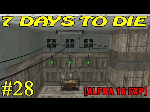 7 Days to Die Alpha 16 ► Электричество ► №28 (16+)