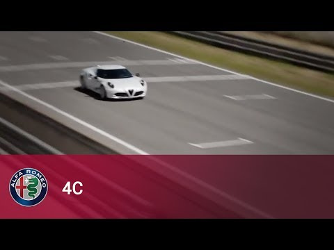 Alfa Romeo 4C and Marc Gené on the racetrack!