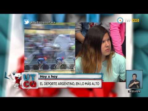 UTCQ - El deporte argentino en lo más alto - 24-08-2015