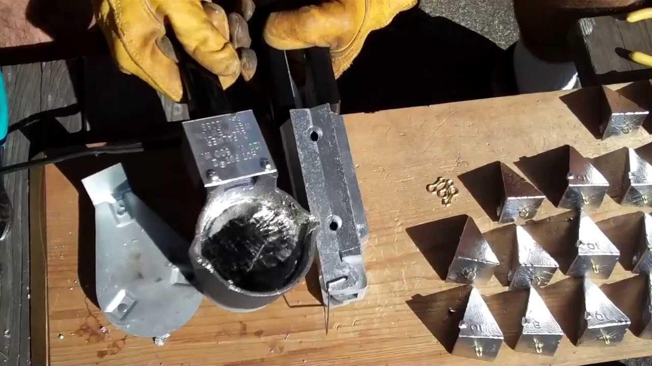 Изготовление формы для литья из свинца своими руками 44