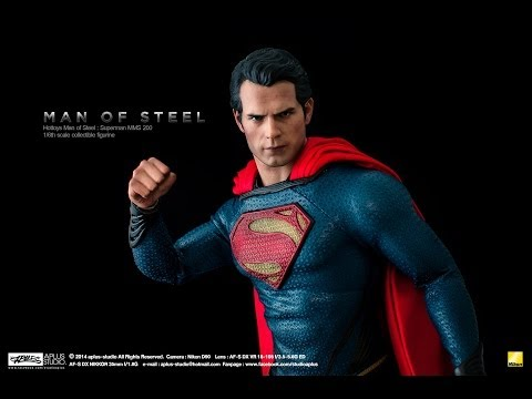 REVIEW : Hottoys Man of Steel MMS200