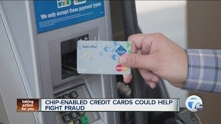 Chip-enabled credit cards could help fight fraud