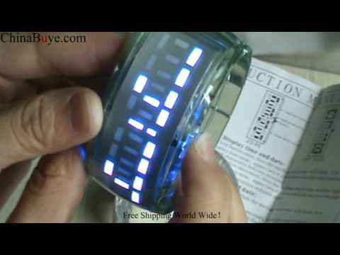 Glow Bracelet LED Digital Wrist Watch