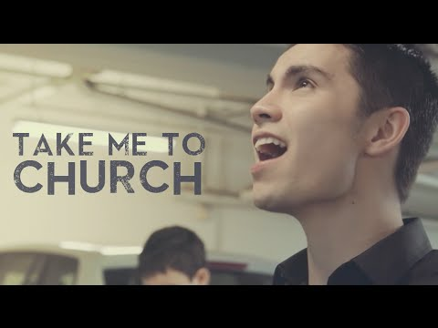 Take Me To Church (hozier) -  Sam Tsui & Kurt Schneider Cover video
