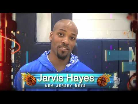 Hoops Jones endorsement by Jarvis Hayes Video