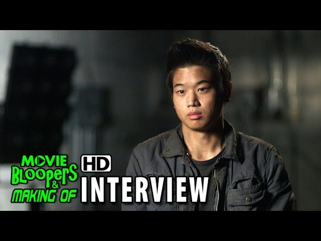 Maze Runner: The Scorch Trials (2015) Behind the Scenes Movie Interview - Ki Hong Lee is 'Minho'