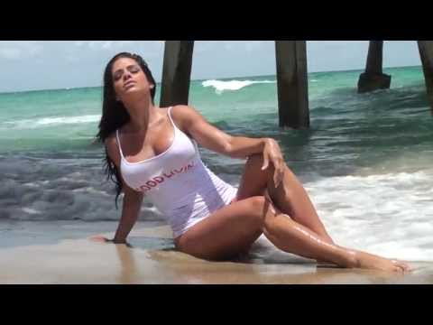 Michelle Lewin Miss Good Body Calendar Shoot