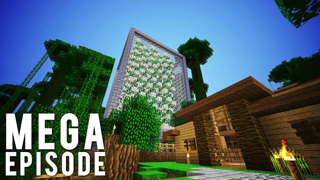 Hermitcraft Mumbo Jumbo Mega Episode All Minis Youtube