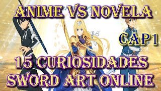 15 Curiosidades de Sword Art Online: Alicization (Anime vs Novela) Cap 1
