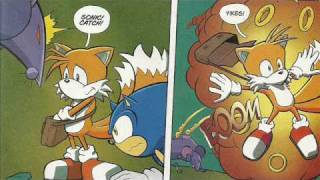 Sonic X Comic Issue 1