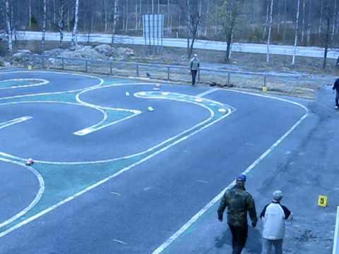 Tamiya Mini RC car race Vaasa
