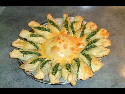 Пирог со шпинатом и сыром рецепт от Inga Avak