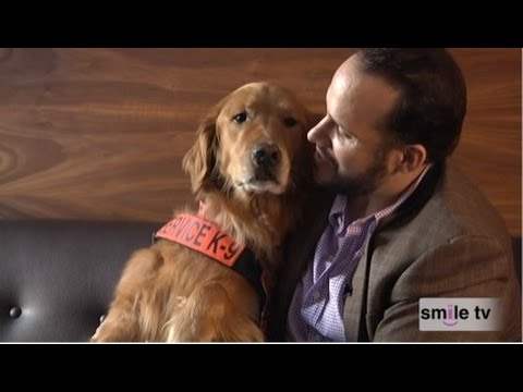 How a Golden Retriever Saved Army Veteran Luis Montalván