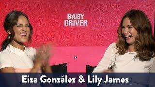 Lily James & Eiza Gonzalez Singing! | KiddNation