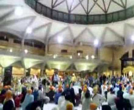 Kirtan by Baba Ranjit Singh ji at Southall Gurdwara